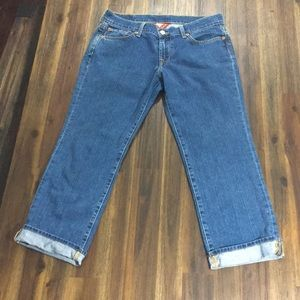 Lucky Brand crop sweet n low jeans